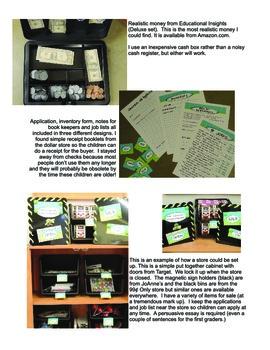 Classroom Economy and Store