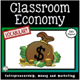 Classroom Economy Vocabulary