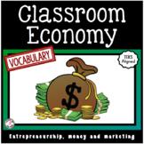 Classroom Economy Vocabulary