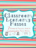 Classroom Economy or Reward Passes