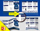 Classroom Editable Math Brochure Template