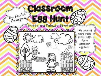 Classroom Egg Hunt: Listening and Following Directions