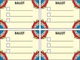 Classroom Election Ballot