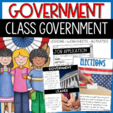 Government Jobs and Classroom Election Activities