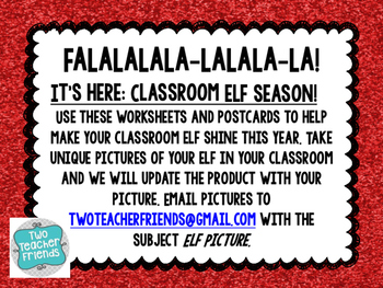 Classroom Elf Activities