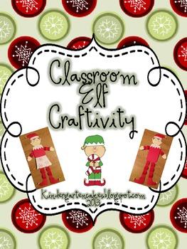 Classroom Elf Craftivity