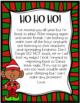 Classroom Elf Letter