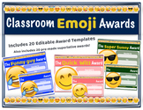 Classroom Emoji Awards