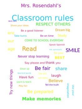 Classroom Encouragement Poster