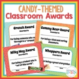Classroom End of the Year Awards - Candy Themed