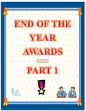 Classroom End of the Year Awards Certificate Pack 1