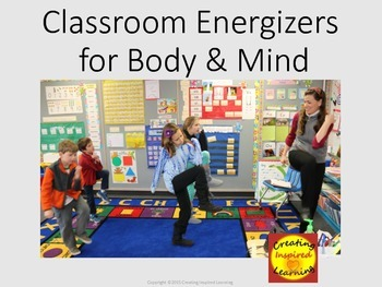Classroom Energizers for Body & Mind