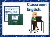 Back to school: Classroom English