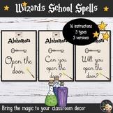 Wizards Theme Classroom Decor Instructions