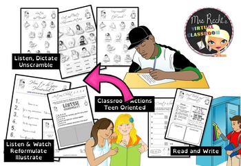 Classroom English for Teens and Special Needs