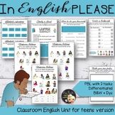 Classroom English for Teens - EFL Lesson