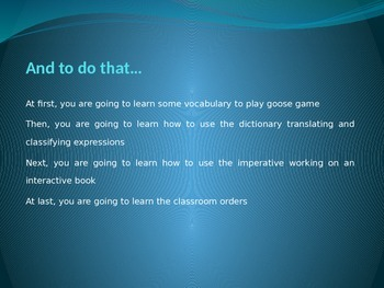 Classroom English quiz: lesson 1