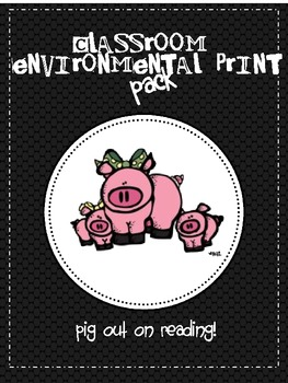 Classroom Environmental Print