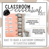 Classroom Essential Rules