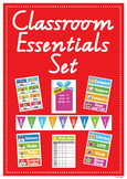 Classroom Essentials, Printables, Editable