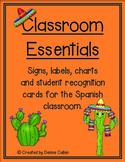 Classroom Essentials--Signs, Labels and Charts