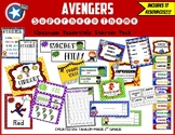 Superhero Theme Classroom Decor & Resources BUNDLE (Avengers)