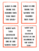Classroom Exit Cards