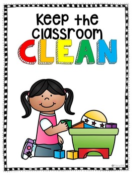Classroom Expectation Posters