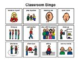 Classroom Expectation Bingo