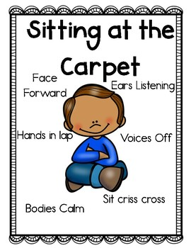 Classroom Expectation Posters PBIS