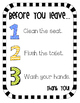 Classroom Expectation Signs