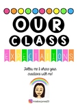 Classroom Expectations Banner