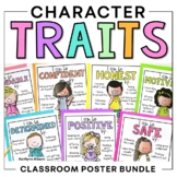 Classroom Expectations - Character Traits Posters