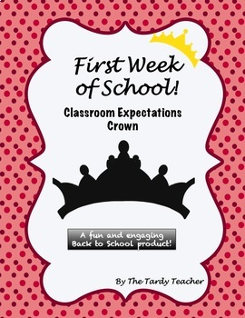 Classroom Expectations Crown