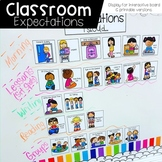 Classroom Expectations Display and Printable (Editable!)