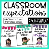 Classroom Expectations {posters}