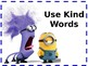 Classroom Expectations Minion Themed Posters