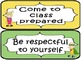 Classroom Expectations - Polka Dot