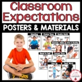 Classroom Expectations Posters & Materials