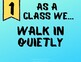 Classroom Expectations Posters - Music