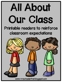 Classroom Expectations Printable Books
