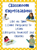 Classroom Expectations- Upper Grades