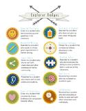 Classroom Explorer Badges
