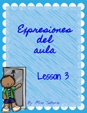 Classroom Expressions Lesson 3
