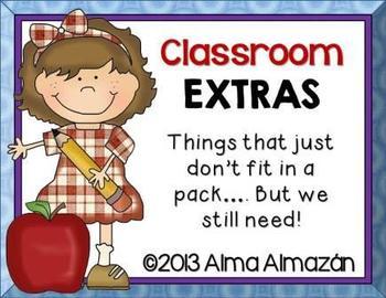 Classroom Extras