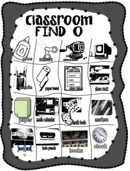 Classroom FIND-O