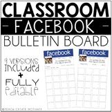 Classroom Facebook {Bulletin Board}