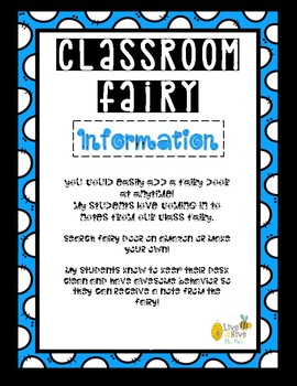 Classroom Fairy Desk Notes