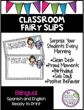 Classroom Fairy Slip