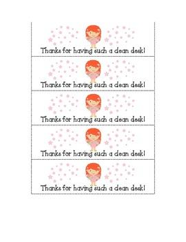 Classroom Fairy Treat Tags